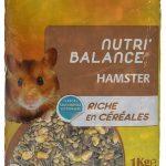 AIME Nourriture Nutri'balance pour Hamster 1 kg - Lot de 5