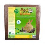 COCO CLEAN LITIERE 100š% NATURELLE POUR RONGEURS 20 LITRES