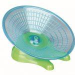 Disque d'exercice pour hamsters et souris, ø 17 cm - particulièrement léger et silencieux mais base solide