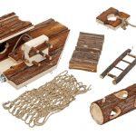 Karlie 84120 Rody-Pirate Ensemble d'accessoires pour cage à hamster