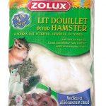Lit douillet blanc sachet de 25 g pour hamsters, gerbilles, souris, rats, écureuils, octodons...ZOLUX