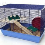 Skyline Special Edition Cage à hamster Base bleu clair