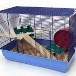 Skyline Special Edition Cage à hamster Base bleu clair