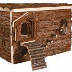 Trixie Maison Svea Labyrinthe Natural Living 28 × 19 × 20 cm Souris Hamsters