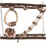 Trixie Pont Suspension Jouet Petit Animal