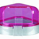 Trixie Toilette d'angle avec toit, 14 x 8 x 11 cm